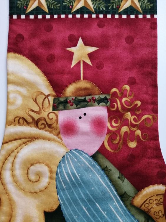Julstrumpa Ängel