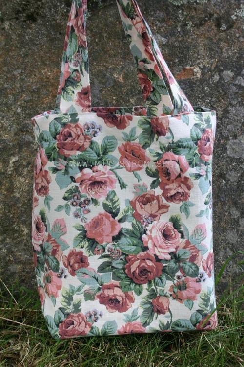 Tygpåse Vintage rose
