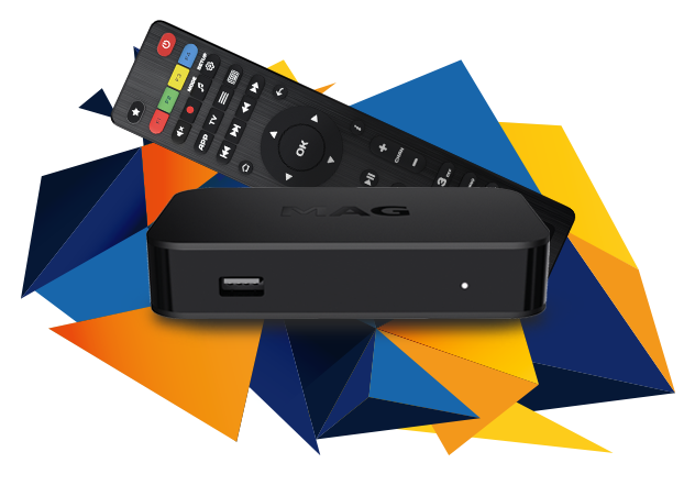 MAG322w1 IPTV OTT Box (Original)