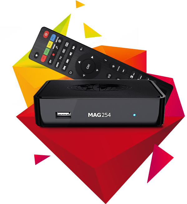 MAG254 - IPTV OTT Box (Original)