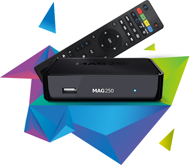 MAG250 - IPTV OTT Box (Original)