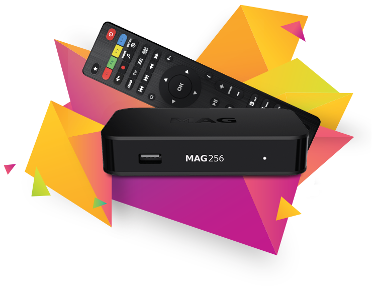 MAG256 - IPTV OTT Box (Original)