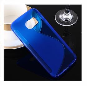 Samsung Galaxy S7 Skal -S-Line -Blå