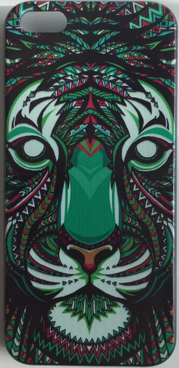 Iphone 5C Skal - Lejon - Aztek - Färg