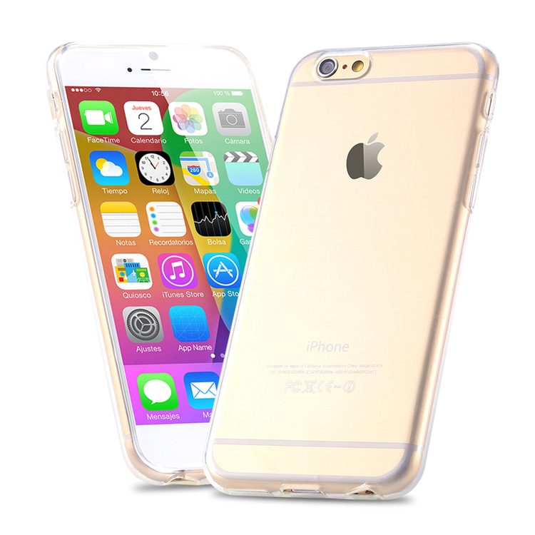 Iphone 6/6S Skal - Transparant - TPU