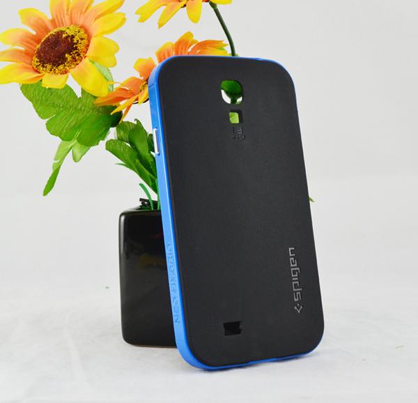 Samsung Galaxy S4 Skal - Hybrid - Extra Stryktåligt - Svart/Blå