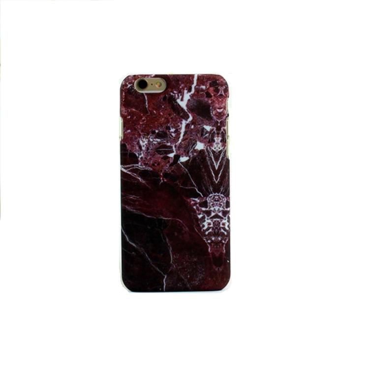 Iphone 7/8  - HardCase - Marmor - RödBrun