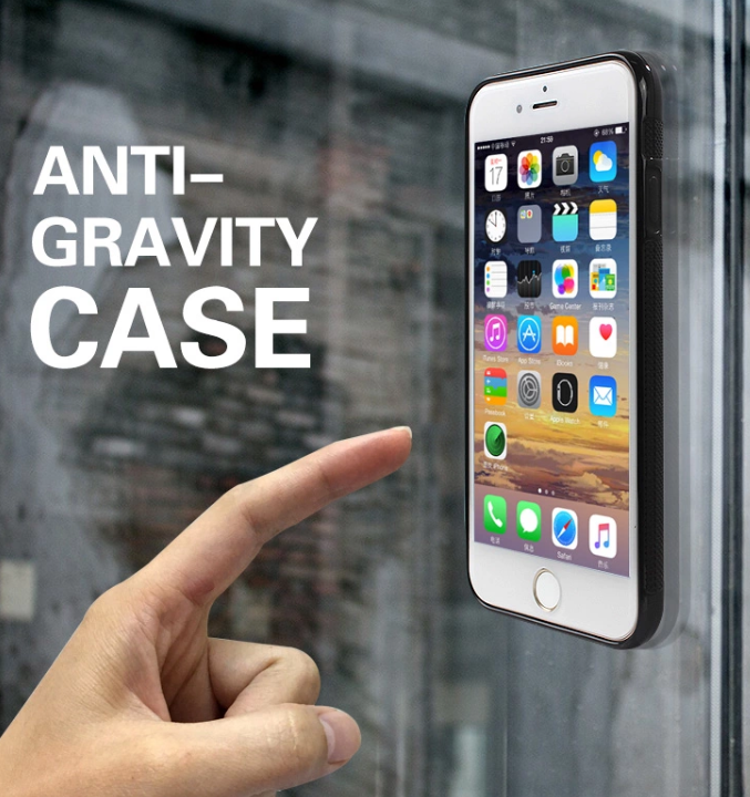 Samsung Galaxy S6 Edge  Anti-Gravity Case - Magic - HandsFree -Svart