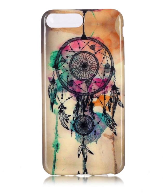 Iphone 7/8 Plus - Mjukt Mobilskal - Drömfångare - Färg -TPU