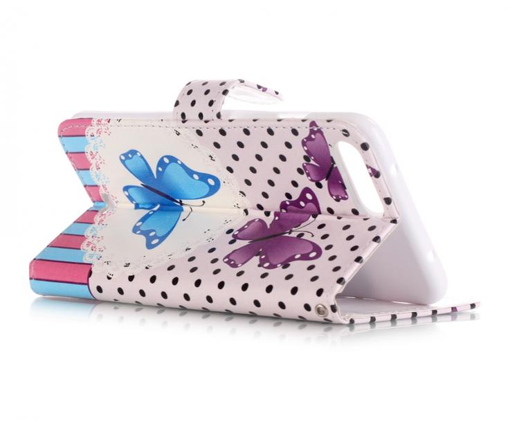 Iphone 7/8 Plus -Plånbok - Härliga Fjärilar - Ljus