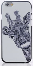 Iphone 6 Plus - Mobilskal - Giraff - Aztek