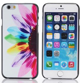 Iphone 6 Plus - Mobilskal - Blomma -Härligt Färgglad