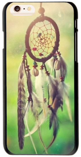 Iphone 6 Plus - Mobilskal - Drömfångare - Gröna Härliga Färger