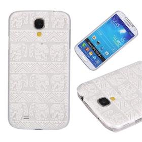 Samsung Galaxy S4 - Elefanter  - Transparant
