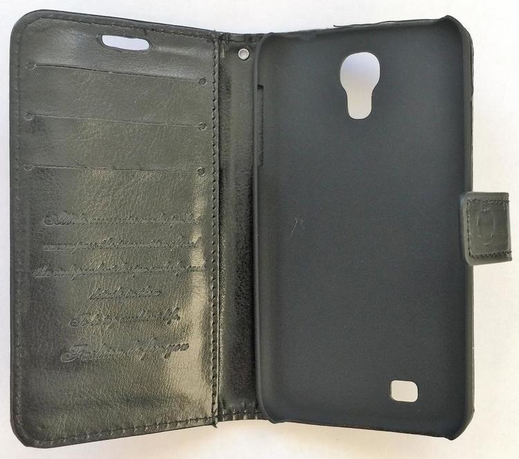 Samsung Galaxy S4 - Plånbok - Svart