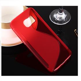 Samsung Galaxy S7 Skal -S-Line -Röd