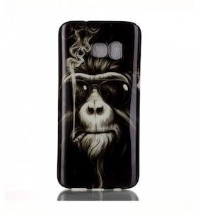Samsung Galaxy S7 Skal -Cool Apa - Cigg & Solbrillor