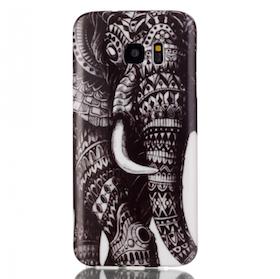 Samsung Galaxy S7 Skal - Elefant - Aztek