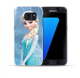 Samsung Galaxy S7 Skal - Frostmotiv - Elsa