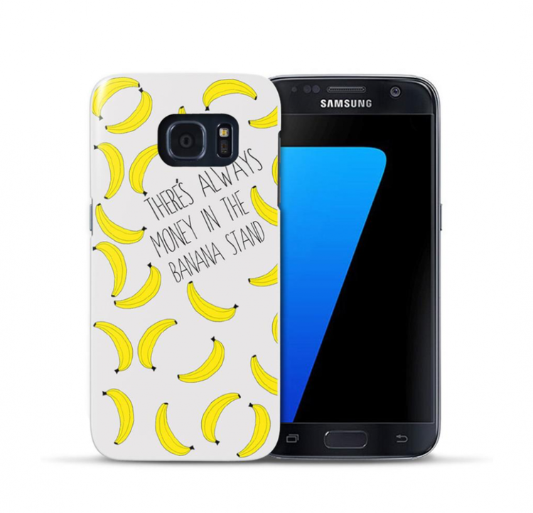 Samsung Galaxy S7 Skal - Bananer
