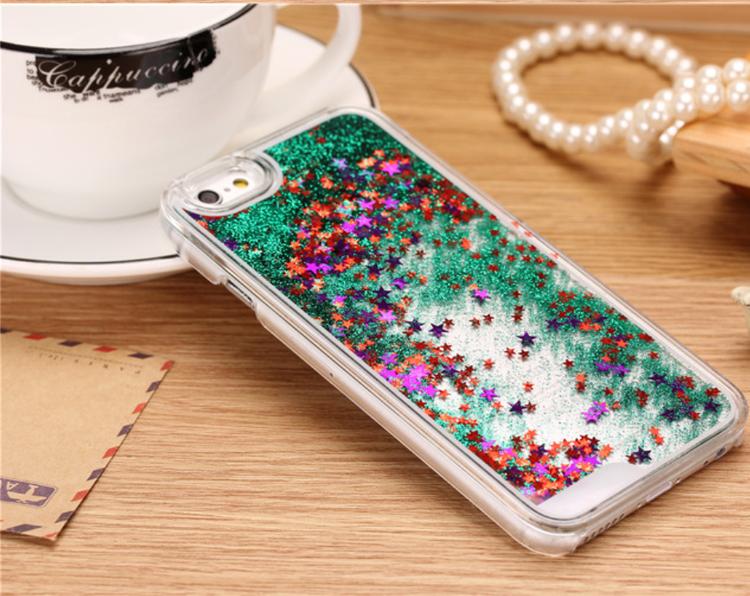 Glitter Skal - Iphone 6 6S - Rörelse - Grön - billigamobilskal 6d91cb6b9ffbd