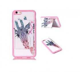 Iphone 6/6S - Unikt - Giraff Aztek - Med Korthållare