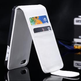 Iphone 6/6S FlipCover - Vit - Plånbok