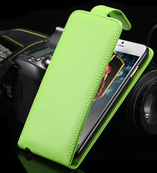 Iphone 6/6S FlipCover - Grön - Plånbok