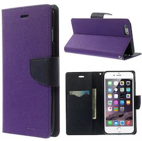 Plånbok - Iphone 6/6S - Mercury -Goospery -Lila