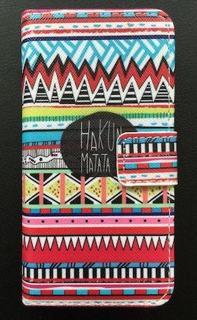Iphone 5/5S/SE  - Plånbok- Hakuna Matata - Aztek