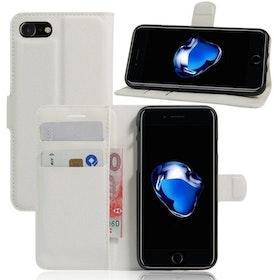 Iphone 7/8  -Plånbok - Fodral - Vit