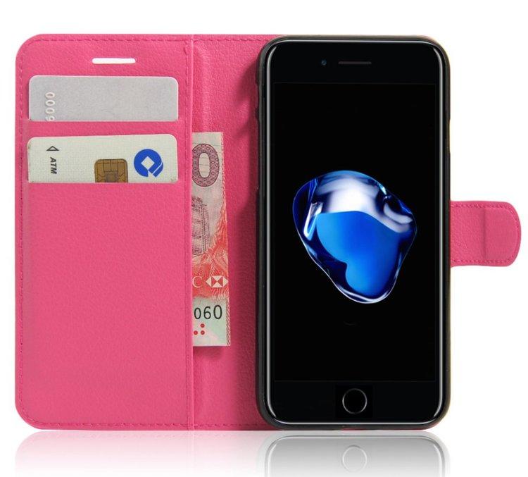 Iphone 7/8  -Plånbok - Fodral - Rosa