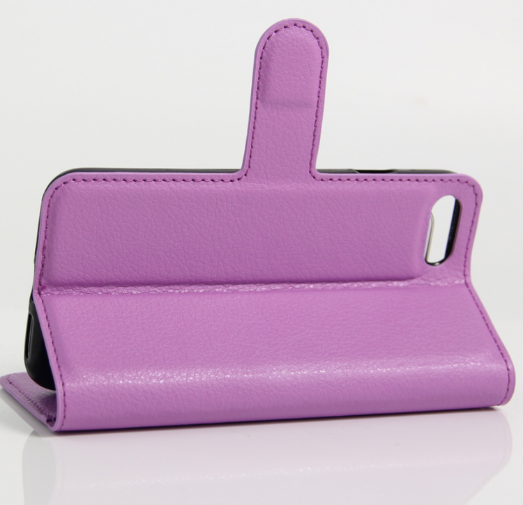 Iphone 7 8 -Plånbok - Fodral - Lila - billigamobilskal a01d0a079fb62