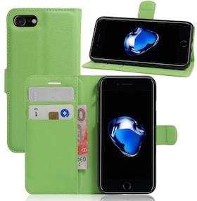 Iphone 7/8  -Plånbok - Fodral - Grön