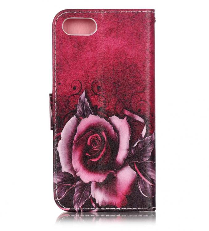 Iphone 7/8 - Plånboksfodral -  Motiv - Ros