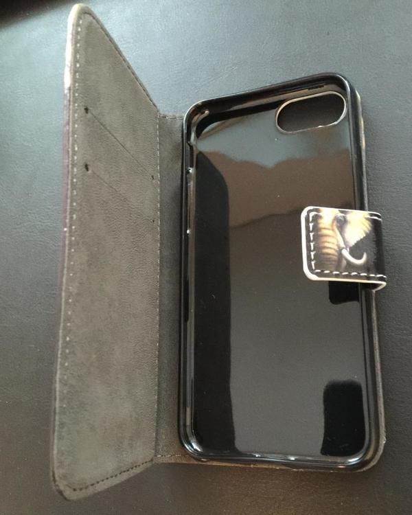 Iphone 7/8 - Plånboksfodral - Elefant