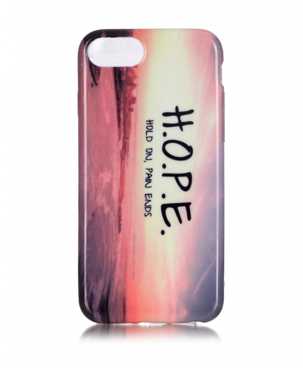 Iphone 7/8  Skal - H.O.P.E -  TPU
