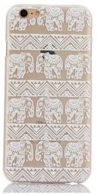 Iphone 7/8 - Skal - Elefanter - Vit