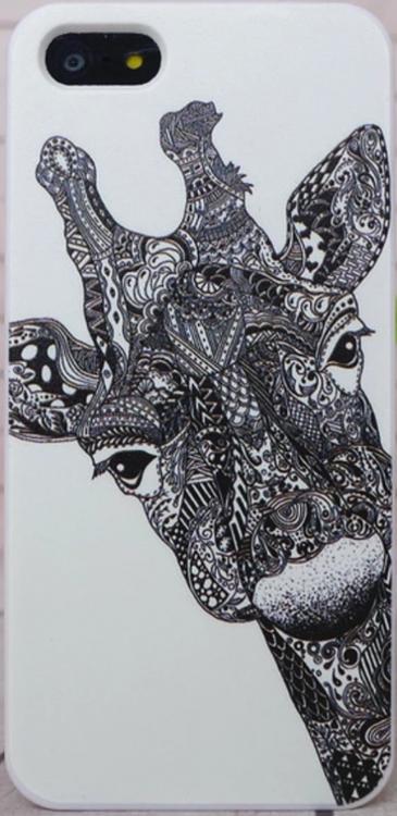 Iphone 5C Skal - Giraff - Aztek