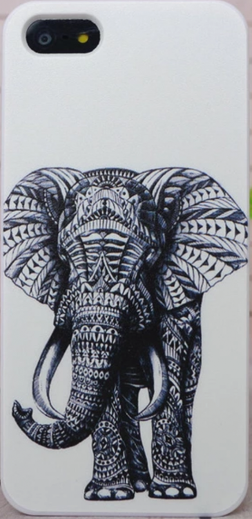 Iphone 5C Skal - Elefant - Aztek