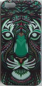 Iphone 5C Skal - Tiger - Aztek - Färg