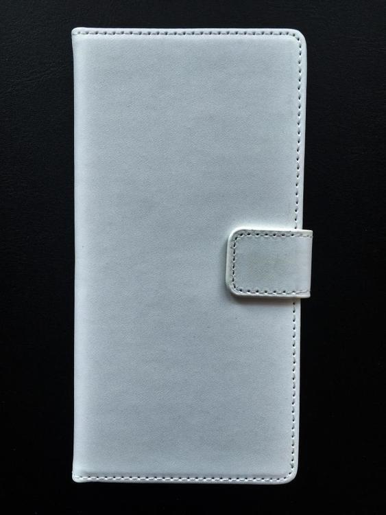 Sony Xperia Z5 Plånboksfodral - Crazy Horse -Vit