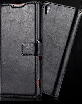 Sony Xperia Z4 Plånboksfodral - Svart