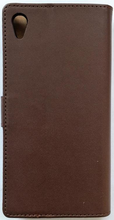 Sony Xperia Z4 Plånboksfodral - Brun
