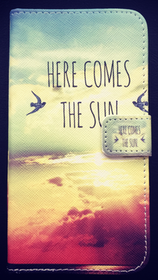 Samsung Galaxy S6 Plånbok - Motiv - Here Comes The Sun