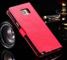 Samsung Galaxy S6 - Plånbok -Crazy Horse - ID- Fack - Rosa