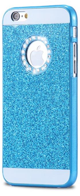 Iphone 5/5S/SE Skal - Glitter - Gnistrande Stenar - Lyx -Blå