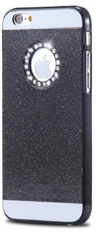 Iphone 5/5S/SE Skal - Glitter - Gnistrande Stenar - Lyx -Svart