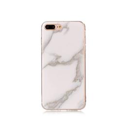 Iphone 5 / 5S / SE  -  Marble - Marmor Case - Vit/ Ljusgrå - Mjukt