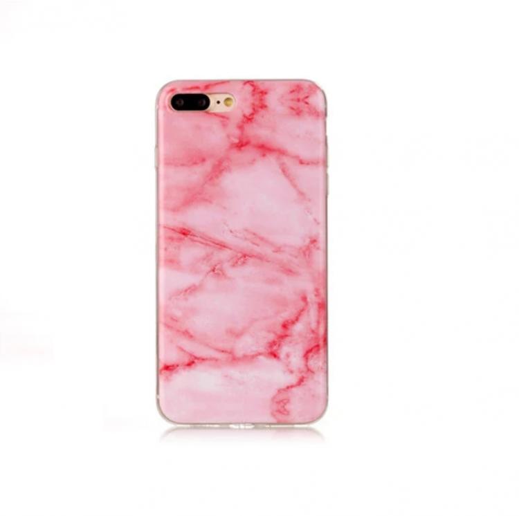 Iphone 5 / 5S / SE  -  Marble - Marmor Case - LjusRosa - Mjukt